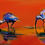 three ibises